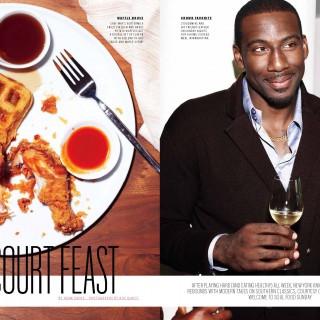 10.11 Bon Appetit Magazine Page 1 320x320 - Amar'e Stoudemire / Bon Appetit Magazine