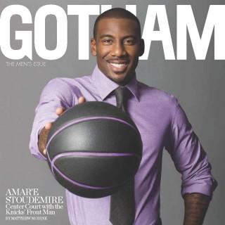 9.30.11 Gotham Magazine Cover 320x320 - Amar'e Stoudemire / Gotham Magazine