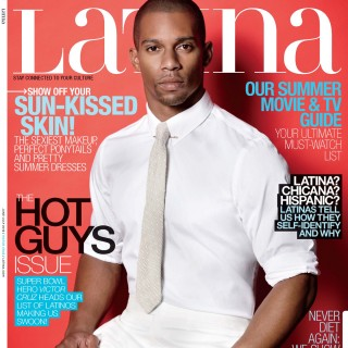 Victor Cruz Latina Magazine