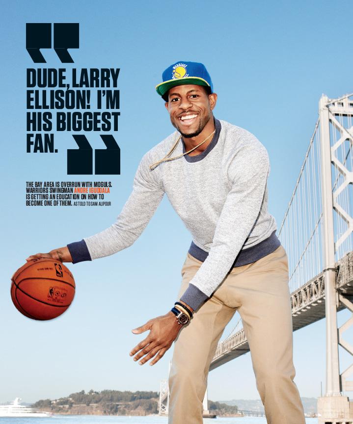 E 101413 070 - Andre Igoudala / ESPN Magazine