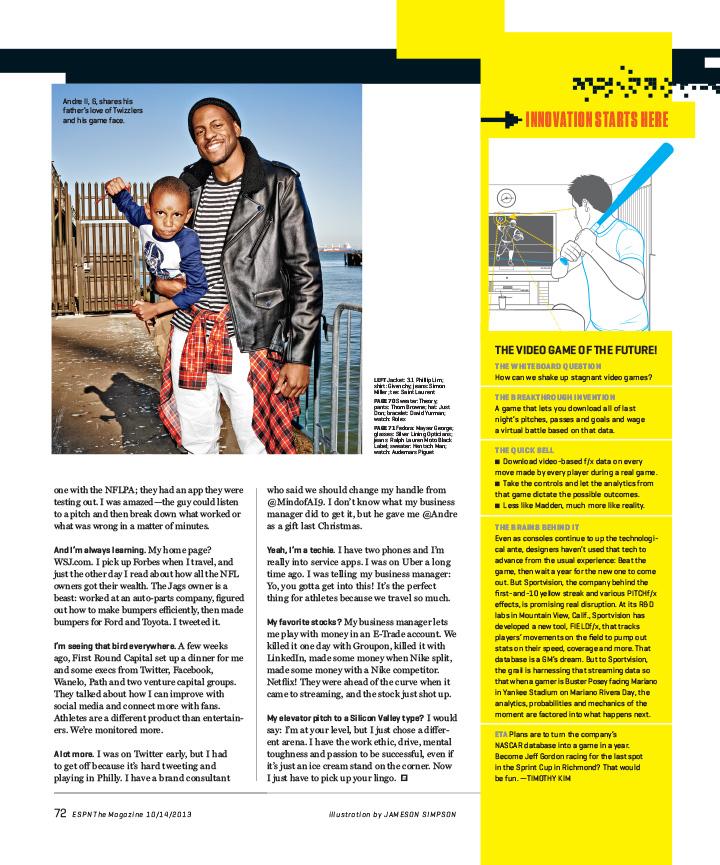 E 101413 072 - Andre Igoudala / ESPN Magazine
