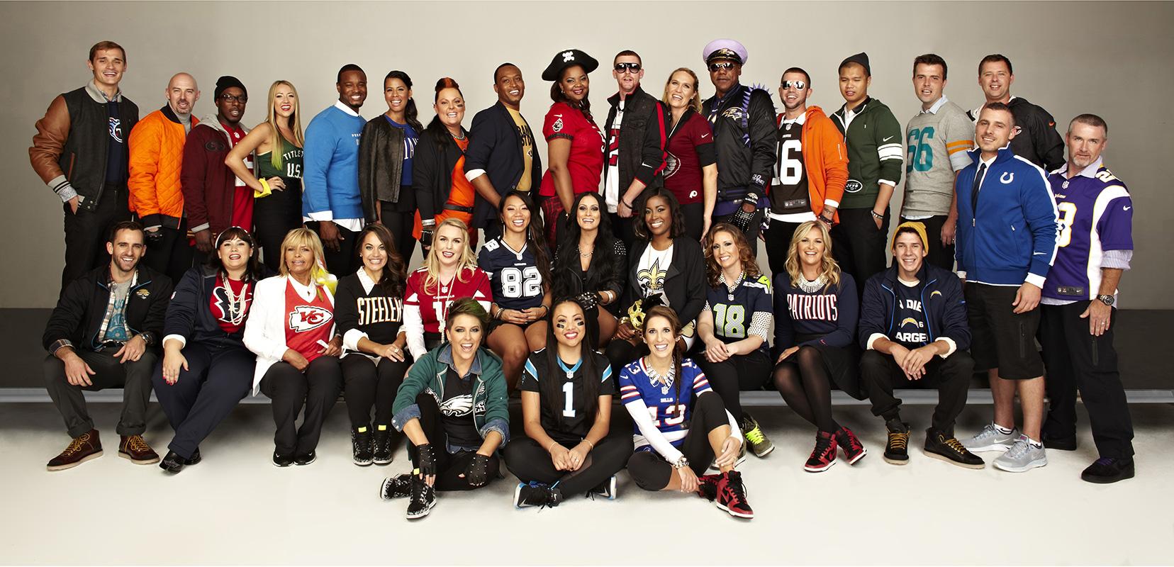 "Nike NFL Football Stylish Fans web - NIKE / NFL ""Back to Football Fan Photo Day"""