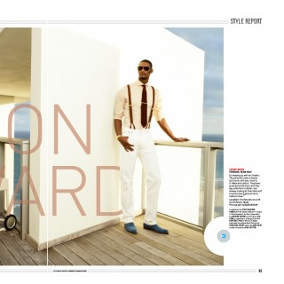 bosh magazine spread 320x320 - Chris Bosh / ESPN Magazine