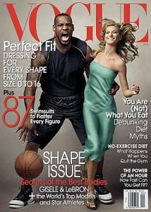 large cover 214x300 - LeBron James / Vogue