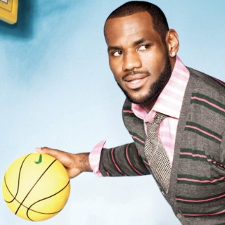 lebron gq 320x320 - LeBron James / GQ Spot