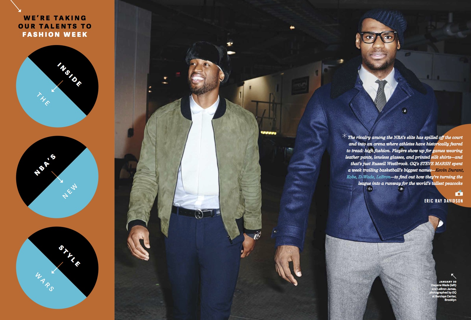 "GQ Style Wars 1 - ""Inside the NBA's New Style Wars"" / GQ Magazine"