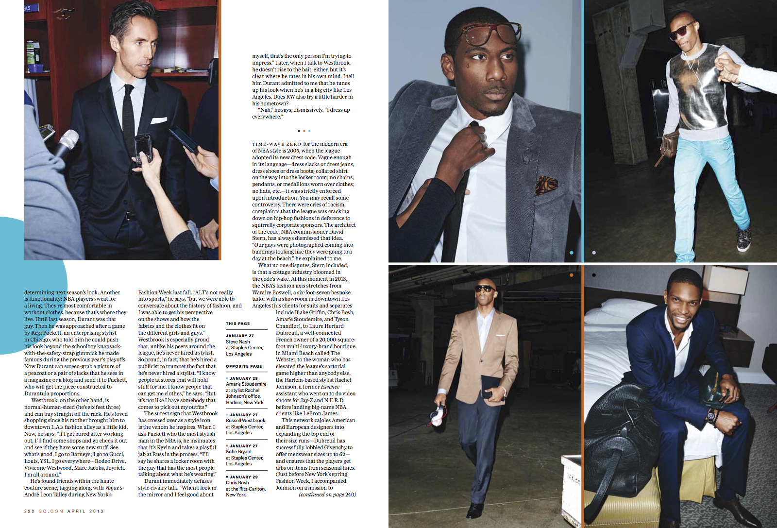 "GQ Style Wars 3 - ""Inside the NBA's New Style Wars"" / GQ Magazine"