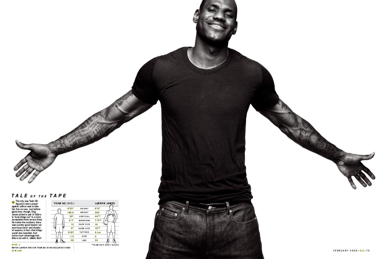 LJ GQ 2009 4 - LeBron James / GQ Magazine