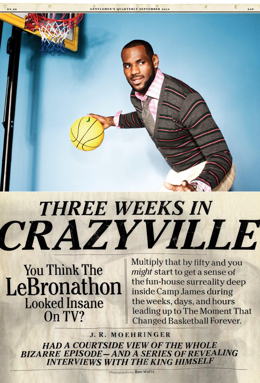 LJ GQ 2010 3 - LeBron James / GQ Magazine