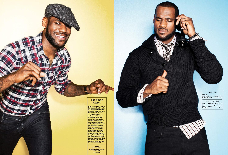 LJ GQ 2010 5 - LeBron James / GQ Magazine