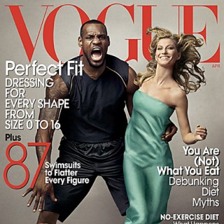 LeBron James Vogue Cover