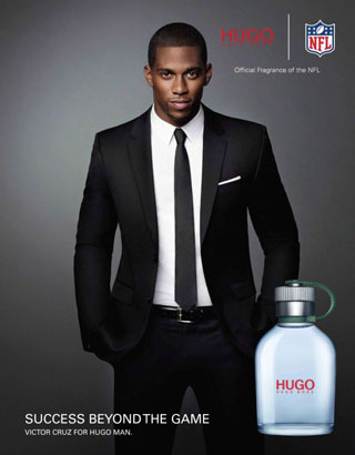 UPTOWN victor cruz hugo boss - Victor Cruz / Hugo Boss