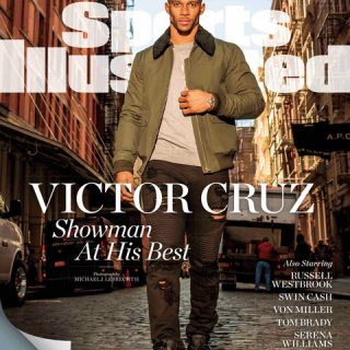VC Sports Ill 320x320 - Victor Cruz Is Named Best Dressed Athlete By Sports Illustrated